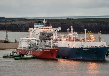 LNG终端实现最小销售量的变化
