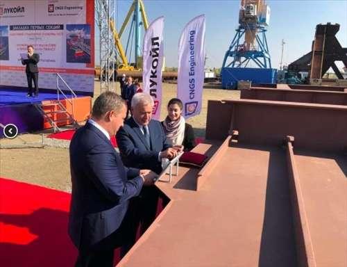 卢克石油公司将于2023年在新的里海油田生产石油