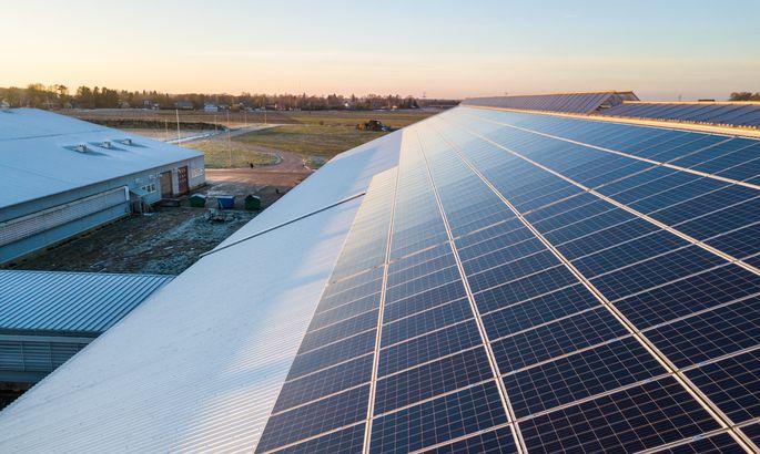 爱沙尼亚奶牛场开始工作的太阳能发电厂处于最高容量