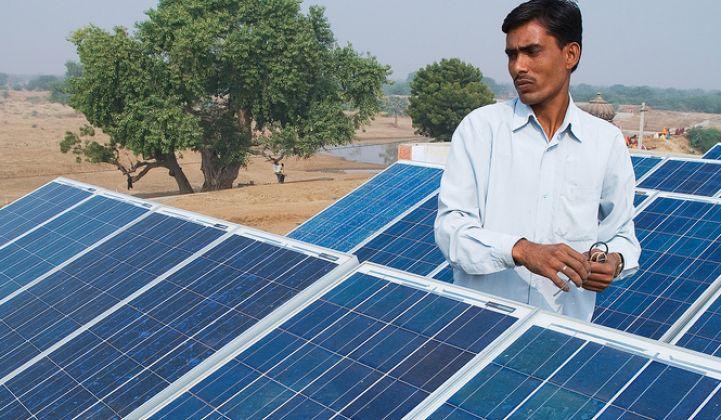 到2022年,印度将失去175千兆瓦太阳能和风能