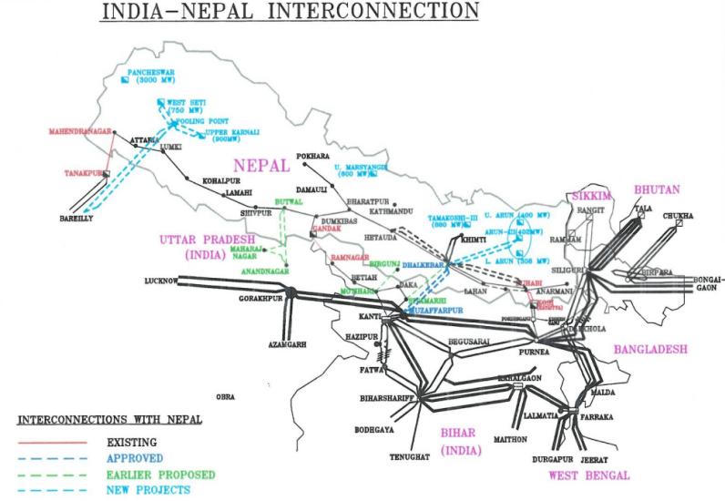 尼泊尔Darchula地区依赖于印度的电力供应