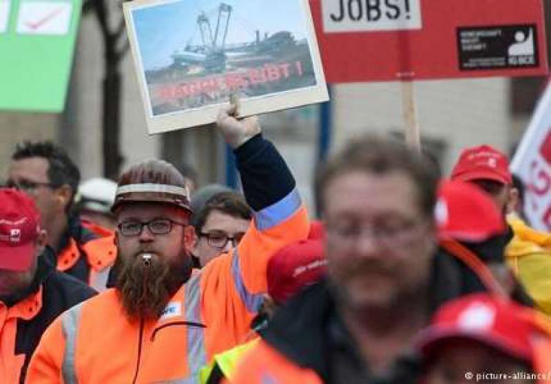数千人抗议德国煤炭淘汰