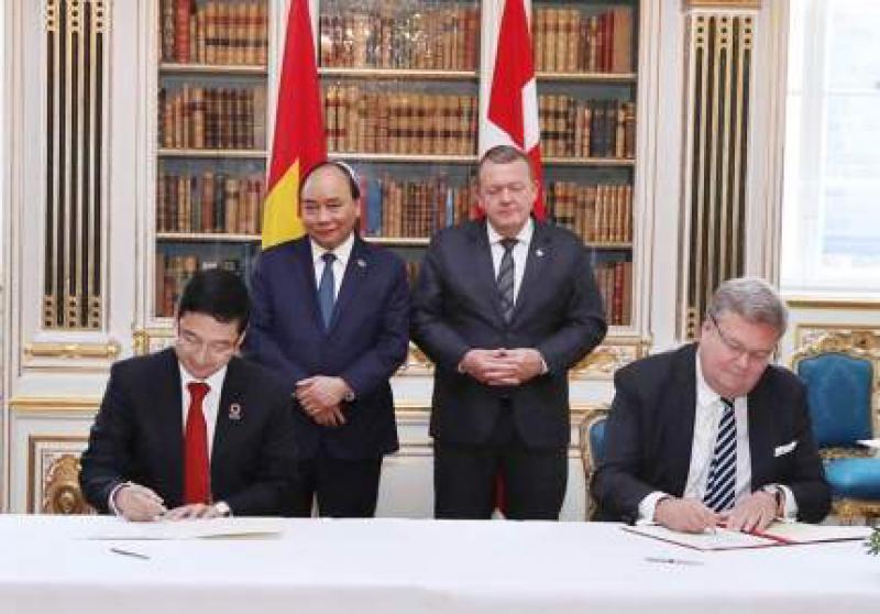 越南与丹麦合作开发可再生能源