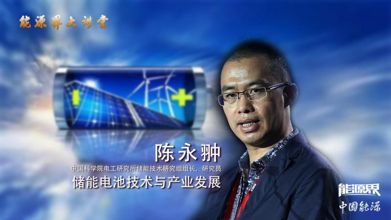 陈永翀:储能电池技术与产业发展